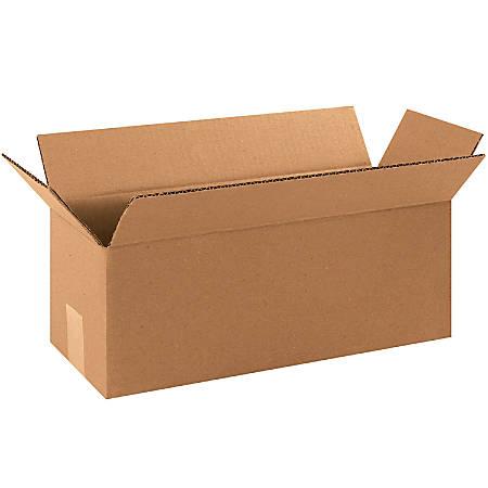 "Office Depot® Brand Long Boxes, 16""L x 6""H x 6""W, Kraft, Pack Of 25"