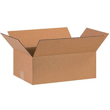 "Office Depot® Brand Corrugated Cartons, 16"" x 10"" x 6"", Kraft, Pack Of 25"