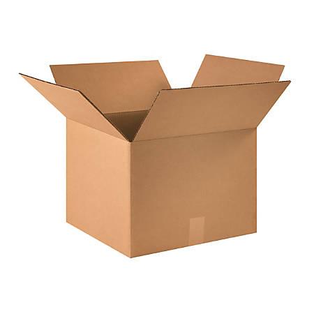 "Office Depot® Brand Corrugated Cartons, 16"" x 16"" x 12"", Kraft, Pack Of 25"