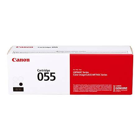 Canon CRG 055 Toner Cartridge, Black, 3016C001