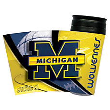 Hunter NCAA Insulated Travel Tumbler Michigan