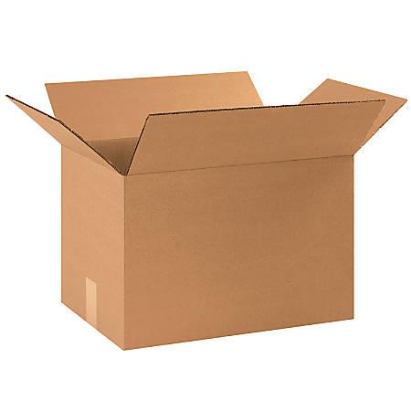 "Office Depot® Brand Corrugated Cartons, 17 1/4"" x 11 1/4"" x 11 1/2"", Kraft, Pack Of 25"