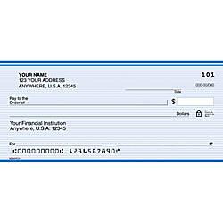 Custom Personal Wallet Checks 6 x