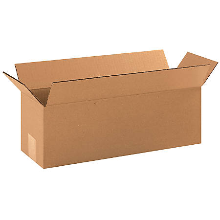 "Office Depot® Brand Long Boxes, 18""L x 6""H x 6""W, Kraft, Pack Of 25"
