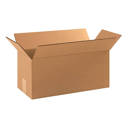 "Office Depot® Brand Corrugated Cartons, 18"" x 8"" x 8"", Kraft, Pack Of 25"