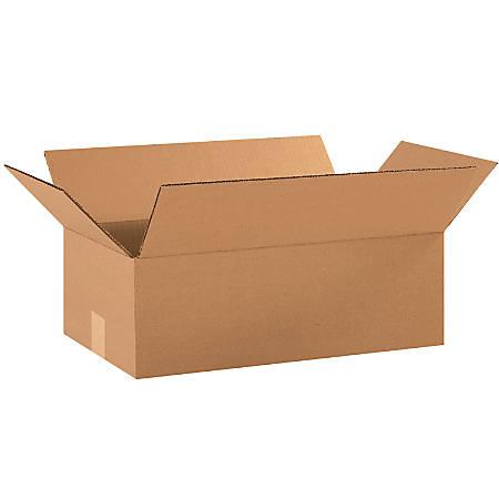 "Office Depot® Brand Corrugated Cartons, 18"" x 10"" x 6"", Kraft, Pack Of 25"