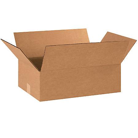 "Office Depot® Brand Corrugated Cartons, 18"" x 12"" x 6"", Kraft, Pack Of 25"