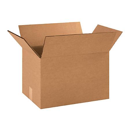 "Office Depot® Brand Heavy-Duty Corrugated Cartons, 18"" x 12"" x 12"", Kraft, Pack Of 25"