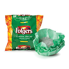Folgers Classic Roast Decaffeinated Coffee Filter