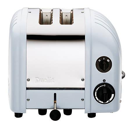 Dualit® New Gen Extra-Wide-Slot Toaster, 2-Slice, Glacier Blue