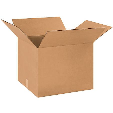 "Office Depot® Brand Corrugated Cartons, 18"" x 16"" x 14"", Kraft, Pack Of 25"