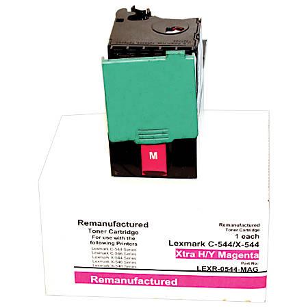M&A Global Cartridges C544X2MG-CMA (Lexmark C544X2MG) Remanufactured Magenta Toner Cartridge