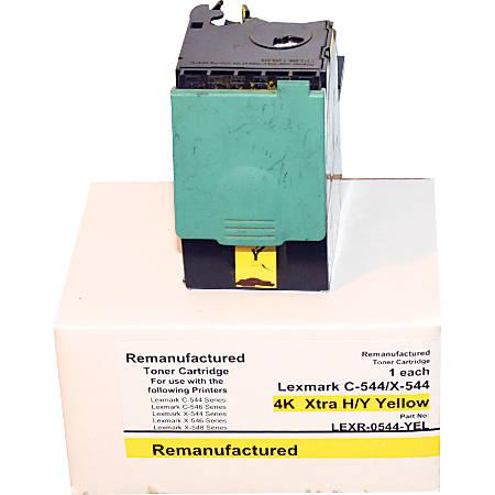 M&A Global Cartridges C544X2YG (Lexmark C544X2YG) Remanufactured Yellow High-Yield Toner Cartridge