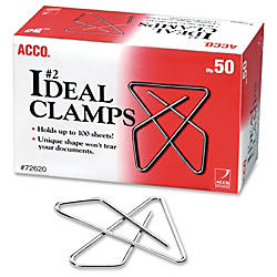 Acco Ideal Butterfly Clamps No 2