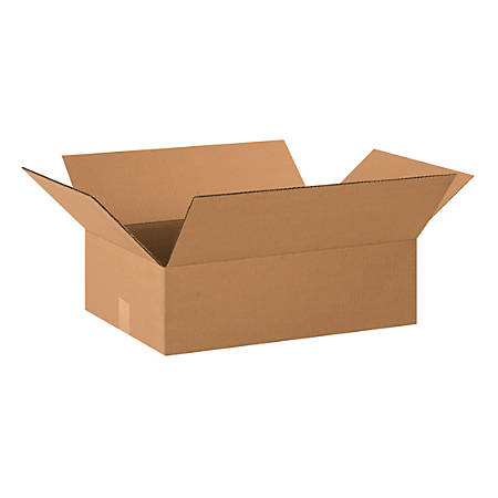"Office Depot® Brand Corrugated Cartons, 20"" x 14"" x 6"", Kraft, Pack Of 25"