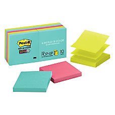 Post it Miami Collection Super Sticky