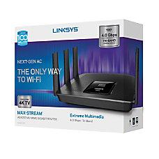 Linksys AC4000 MU MIMO Wireless Router