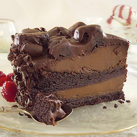 "Sweet Street Desserts 9"" Choc'late Lovin' Spoon Cake®, 14 Servings"