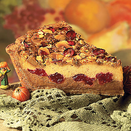 Sweet Street Desserts Pumpkin Cranberry Bash Pie, 14 Servings