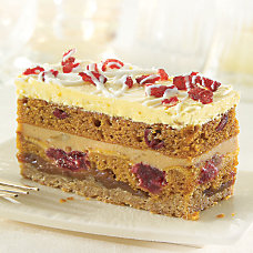 Sweet Street Desserts Pumpkin Cranberry Stack