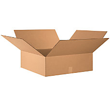 Office Depot Brand Flat Boxes 24