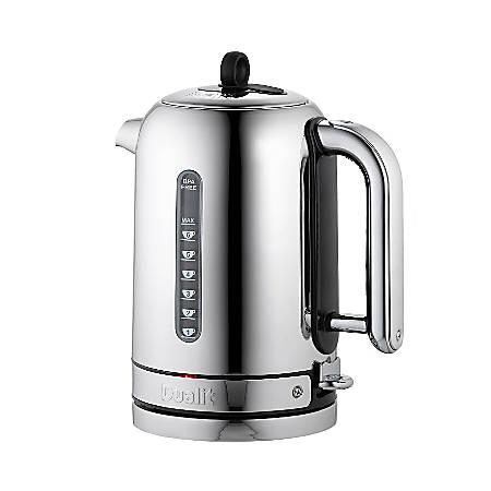 Dualit® Classic Kettle, 1.71 Liters, Chrome