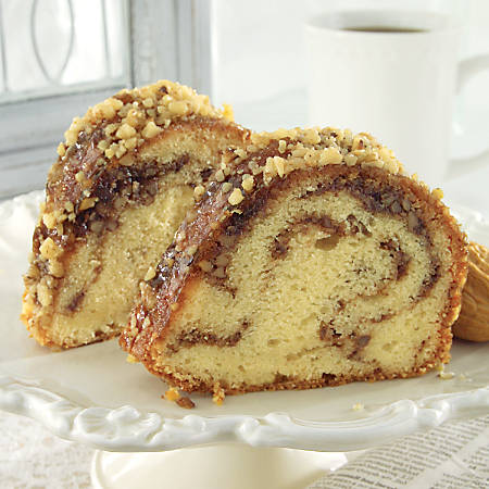 Sweet Street Desserts Sandy's Sour Cream Coffee Cake, 16 Servings