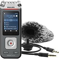 Philips VoiceTracer Audio Recorder 8 GBmicroSD