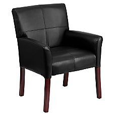 Flash Furniture Leather Conference Chair BlackBlack