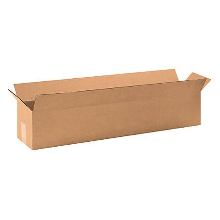 "Office Depot® Brand Long Boxes, 32""L x 6""H x 6""W, Kraft, Pack Of 25"