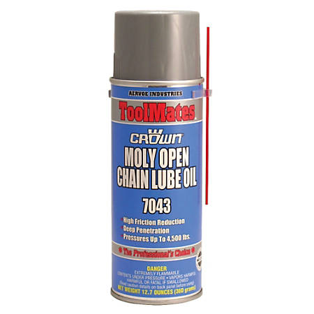 MOLY OIL/OPEN CHAIN LUBE