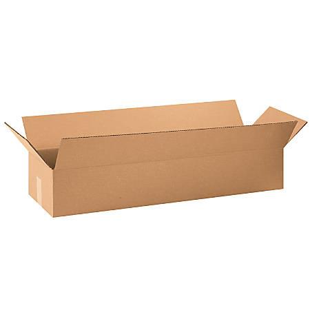 "Office Depot® Brand Corrugated Cartons, 34"" x 10"" x 6"", Kraft, Pack Of 10"