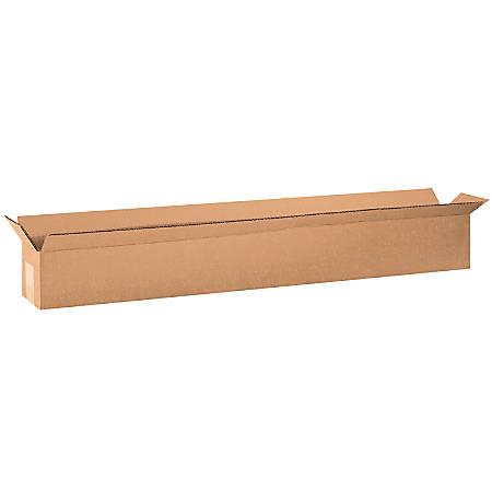 "Office Depot® Brand Long Boxes, 36""L x 4""H x 4""W, Kraft, Pack Of 25"