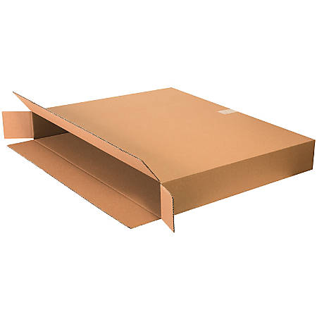 "Office Depot® Brand Side Loading Corrugated Cartons, 36"" x 5"" x 30"", Kraft, Pack Of 20"