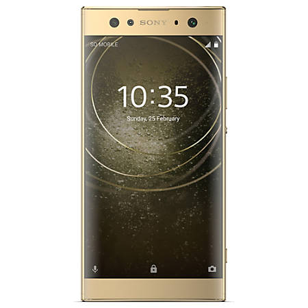Sony® Xperia XA2 Ultra H3223 Cell Phone, Gold, PSN300190