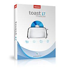 Roxio Toast 17 Titanium Mac