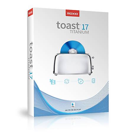 Roxio Toast 17 Titanium (Mac), Download Version