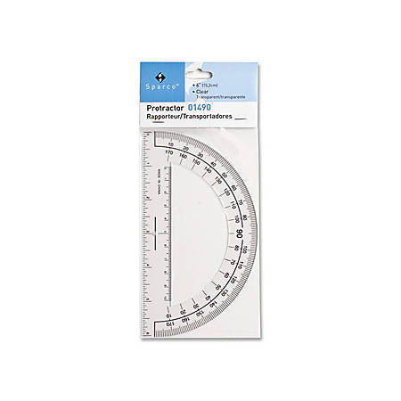 "Sparco 6"" Professional Protractor"