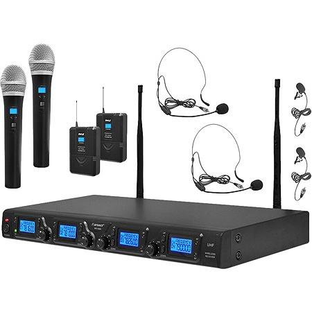 PylePro Premier PDWM4350U Wireless Microphone System - 673 MHz to 698 MHz  Operating Frequency Item # 550035