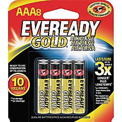 Eveready Gold Alkaline AAA Batteries AAA