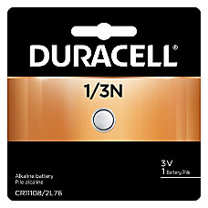Duracell 3 Volt Lithium Camera Batteries