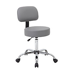 Boss Caressoft Medical Stool With Back