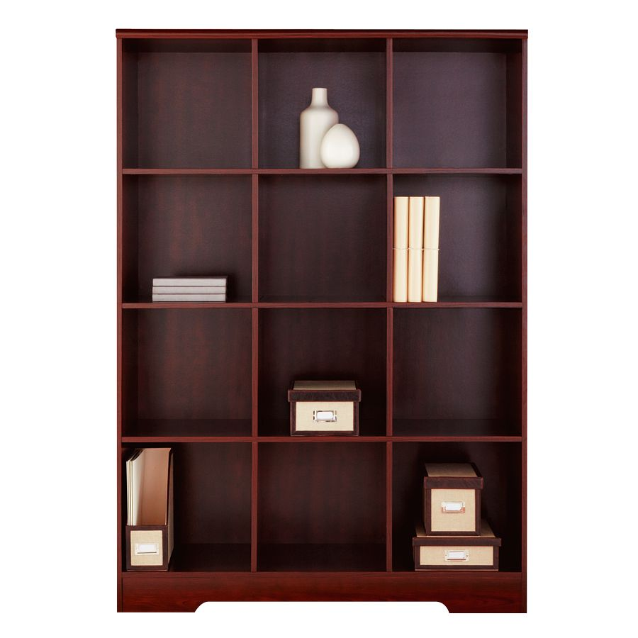 Exceptionnel Realspace Magellan 12 Cube Bookcase Classic Cherry By Office Depot U0026  OfficeMax