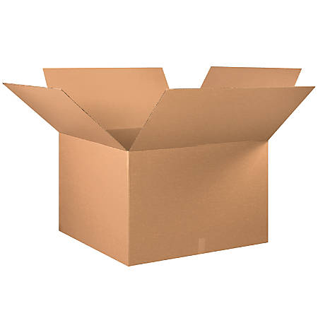 "Office Depot® Brand Corrugated Cartons, 36"" x 36"" x 24"", Kraft, Pack Of 5"