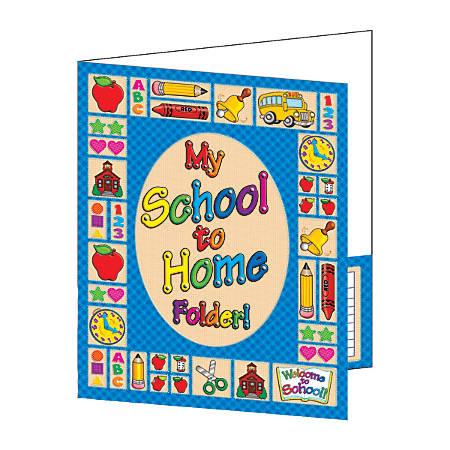 "Scholastic 2-Pocket Folder, School To Home, 9"" x 12"""