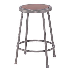 National Public Seating Hardboard Stools 24