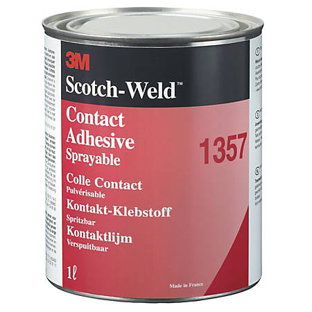 3M™ 1357 Scotch-Weld™ Neoprene High-Performance Contact Adhesive, Gray, 32 Oz