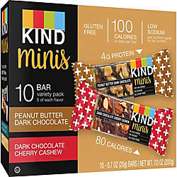 KIND Minis Snack Bar Variety Pack