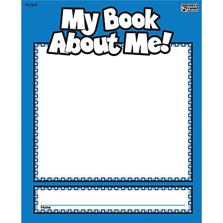 """Scholastic My Book About Me, 7"""" x 8 1/2"""""""