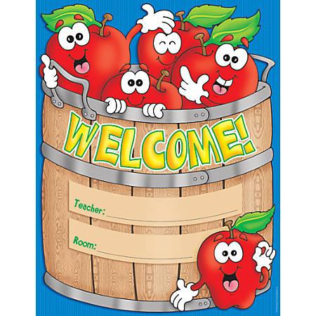 """Scholastic Practice Chart, Welcome Basket, 17"""" x 22"""""""